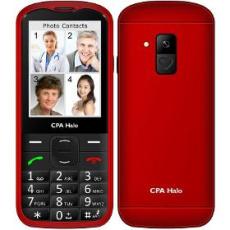 Mobilný telefón Halo 18 SENIOR RED mobil phone CPA
