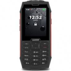Mobilný telefón HAMMER 4 červený MYPHONE