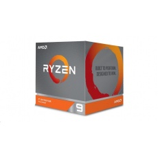 CPU AMD RYZEN 9 3900X, 12-core, 3.8 GHz (4.6 GHz Turbo), 70MB cache (6+64), 105W, socket AM4, Wraith Prism Cooler