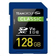 TEAM SDXC karta 128GB U1 (R:80MB/s, W:15MB/s)