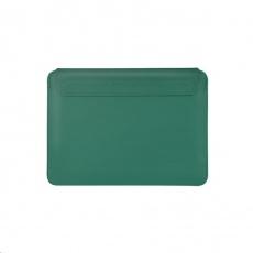 COTEetCI PU tenké pouzdro s magnetickým zapínáním pro Apple Macbook Pro 16 zelená