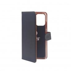 Celly pouzdro Wally s funkcí stojánku pro Huawei P40 Lite , černá