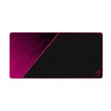 ASUS podložka pod myš ROG SHEATH ELECTRO PUNK (NC07), 900x440x3mm, textil, černo-růžová