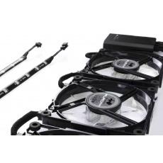 IN WIN Aurora Black/White (3 fans + controller + 2 x led strip)