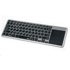 Hama bezdrôtová klávesnica KW-600T s touchpadom, pre Smart TV