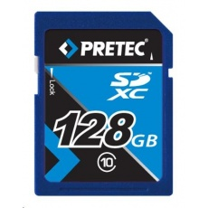 PRETEC Secure Digital SDXC class 10 (10MB/s, 10MB/s ) - 128GB