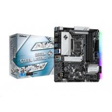 ASRock MB Sc LGA1200 B560M STEEL LEGEND, Intel B560, 4xDDR4, 1xDP, 1xHDMI, mATX