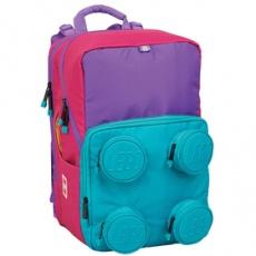 Školská aktovka Petersen Pink/Purple-školská taška LEGO