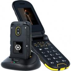 Mobilný telefón HAMMER BOW PLUS oranžovo-čierny MYPHONE