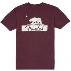 Hudobnícke oblečenie 919-0138-806 FENDER tričko BURG BEAR XXL