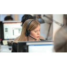 SENNHEISER SC 165 USB, headset - oboustranná sluchátka s mikrofonem
