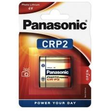 PANASONIC Lithiové - FOTO baterie CR-P2L/1BP 6V (blistr - 1ks)