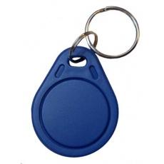 ELATEC RFID Mifare čip, prívesok na kľúče, 13,56 MHz, modrý