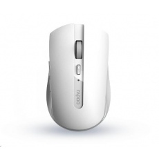 RAPOO myš 7200M Multi-mode bezdrátová, bílá
