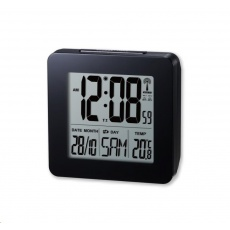 Oregon RM510 black - digitální budík s teploměrem