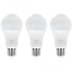 Sada LED žiaroviek CLASSIC REL 22 LED A60 3x12W E27 WW RETLUX