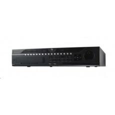 HIKVISION NVR, 32 kanálů, 8x HDD (až 64TB), 4K UHD, 3x USB, 2xHDMI a 2xVGA výstup, 16x DI / 4x DO, audio in/out