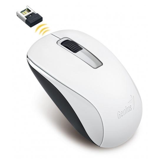 GENIUS myš NX-7005/ 1200 dpi/ bezdrátová/ bílá