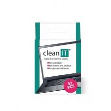 CLEAN IT Čistící ubrousky mokré kusové 52 ks
