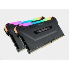 CORSAIR DDR4 16GB (Kit 2x8GB) Vengeance RGB PRO DIMM 3600MHz CL18 černá