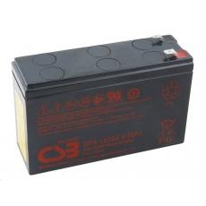 CSB baterie 12V 7Ah F1F2 HighRate (UPS 123606)