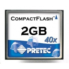 PRETEC CompactFlash Card 1GB Type I Industrial Series, SLC chips