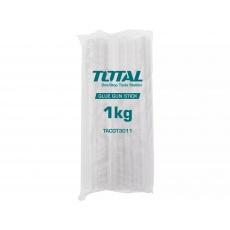 Total TACGT3011 Tyčinky tavné transparentní, 1kg, průměr 11,2mm, délka 30cm
