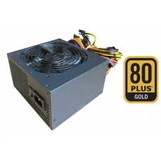 Fortron zdroj 650W FSP650-50ABA 80PLUS GOLD, bulk, černá