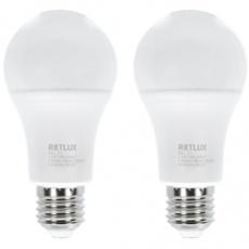 Sada LED žiaroviek CLASSIC REL 21 LED A60 2x12W E27 WW RETLUX
