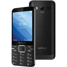 Mobilný telefón Up tlačidlový čierny myPhone