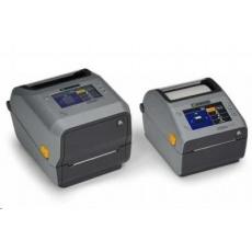 Zebra ZD621t, 12 dots/mm (300 dpi), cutter, RTC, USB, USB Host, RS232, BT (BLE), Ethernet, grey