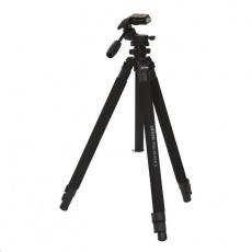 Doerr stativ PRO BLACK 2 (70-162 cm, 2130 g, max.3kg, 3D Fluid hlava s rukojetí)
