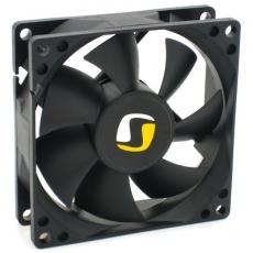 SilentiumPC přídavný ventilátor Mistral 80/ 80mm fan/ ultratichý - bez krabičky (jen ventilátor a šroubky)