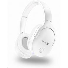 CONNECT IT sluchátka SuperSonic, bezdrátová, mikrofon, bílá
