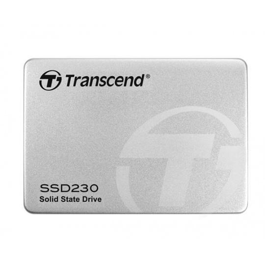 TRANSCEND SSD 230S 512GB, SATA III 6Gb/s, 3D TLC, Aluminum case