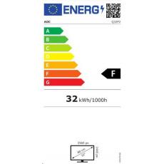 "AOC MT IPS LCD WLED 31,5"" Q32P2 - IPS panel, 2560x1440, 2xHDMI, DP, USB 3.2, repro, pivot"