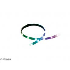 AKASA LED pásek Vegas MB, V2, magnetický, OEM pack, no 4pin adaptér, 3ks v balení