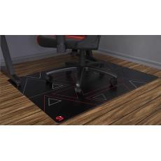 SPC Gear ochranná podložka na podlahu pod herní židli 120R 120x120 cm černočervená