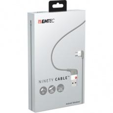 USB kábel U100 Ninety Cable dát.kábel And. EMTEC