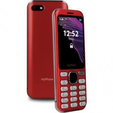 Mobilný telefón Maestro tlačidlový červený myPhone