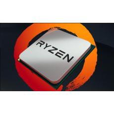 CPU AMD RYZEN 5 1600, 6-core, 3.2 GHz (3.6 GHz Turbo), 16MB cache, 65W, socket AM4 (Wraith cooler)