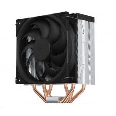SilentiumPC chladič CPU Fera 5 ultratichý/ 120mm fan/ 4 heatpipes/ PWM/ pro Intel, AMD