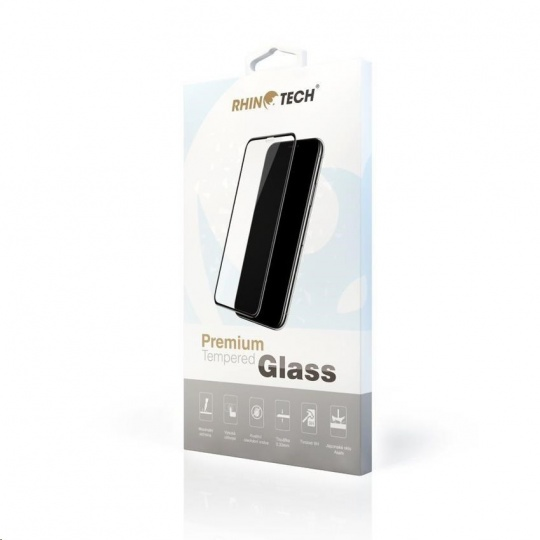 RhinoTech Tvrzené ochranné 2.5D sklo pro Realme 8 / 8 Pro (Full Glue)