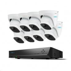 REOLINK bezpečnostní kamerový set s umělou inteligencí RLK16-820D8-A-3T, 4K