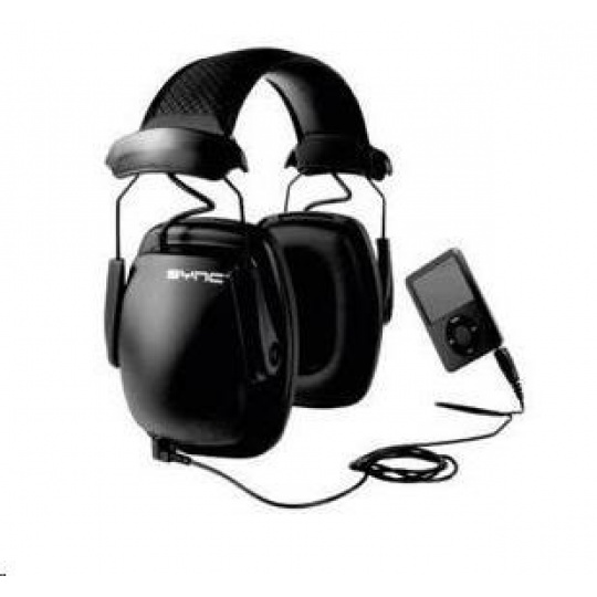 CONRAD ochranná sluchátka se vstupem Howard Leight, 31 dB