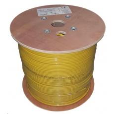 UTP kabel LEXI-Net, Cat6, licna, LS0H, Dca, žlutý, 500m, cívka