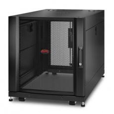 APC NetShelter SX 12U Server Rack Enclosure 600mm x 1070mm w/ Sides Black Shock Packaging