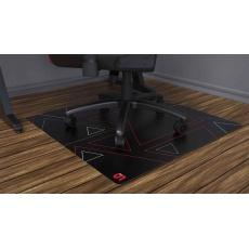 SPC Gear ochranná podložka na podlahu pod herní židli 90S 90x90 cm černočervená