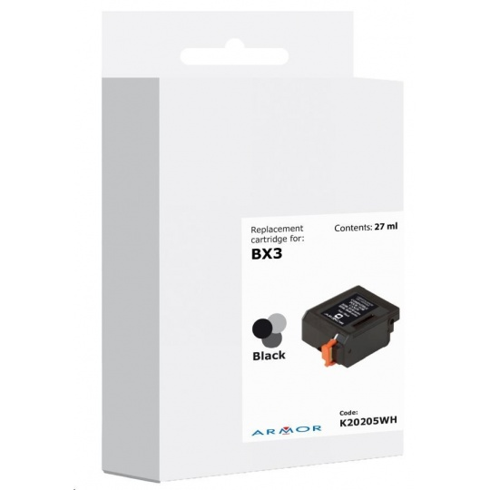 ARMOR ink-jet pre CANON B150, B640, 700 strán, BX3, čierná/black (BX-3)
