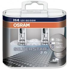 Autožiarovka H4 SILVERSTAR 2 Duo-Box žiarovka OSRAM